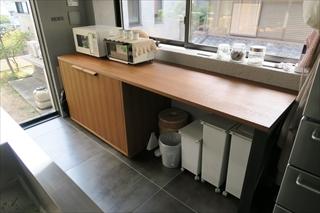 キッチンバックの家具