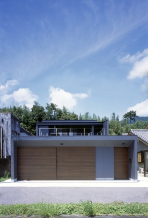 名張のガレージハウス2 (1)