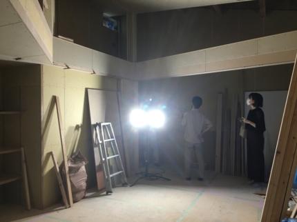 大阪高槻の家現場