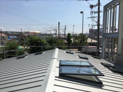 堺の家屋根の点検