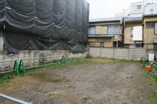 東京の敷地
