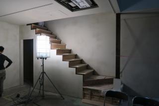 京都長屋改装階段