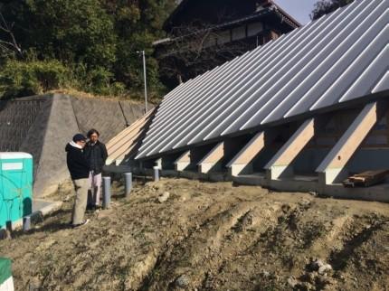 奈良学園前の植栽