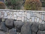 塀の上に塀