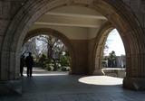 大阪市立博物館の門