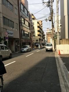 大阪市内へ土地見学