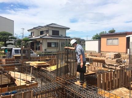 香川高松鉄筋コンクリート配筋検査