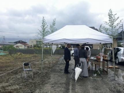 鳴門の家 地鎮祭
