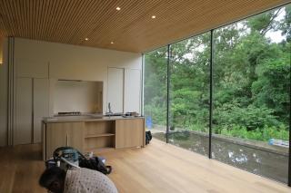 キッチンと景色