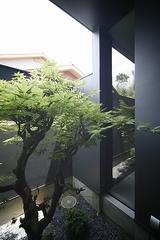 三重県名張の家:もうひとつの中庭