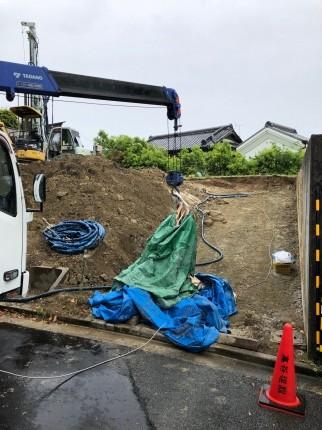 奈良学園前工事開始