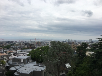 神戸眺望の良い敷地