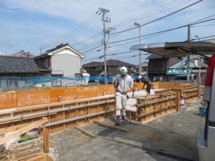 京都美容室基礎化型枠