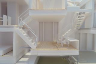 堺の家模型