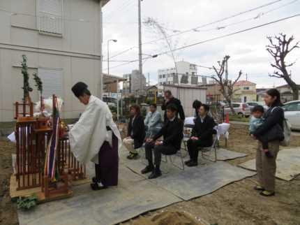 堺の家地鎮祭