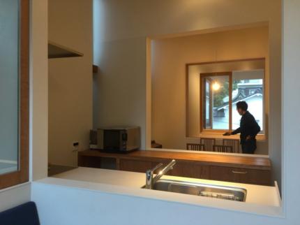 大阪上本町の家撮影