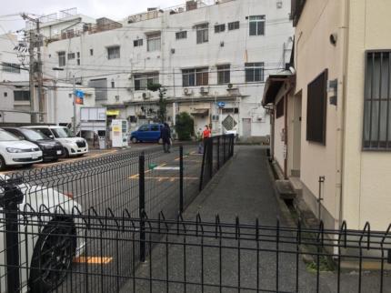 南大阪の敷地見学