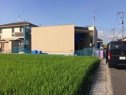 福山のタイル外壁