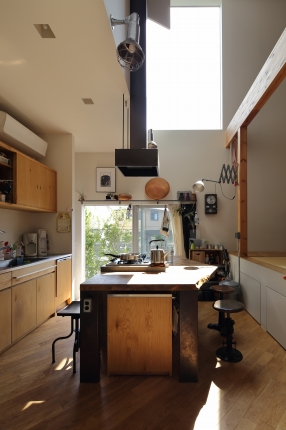 高槻の家キッチン
