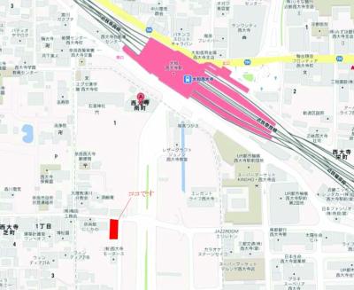 西川さん地図