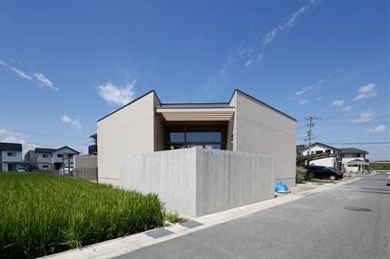 福山の家竣工直前