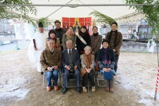 広島の地鎮祭