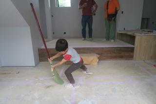 大阪茨木掃除中