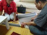 大阪:松原の家 金網検討中