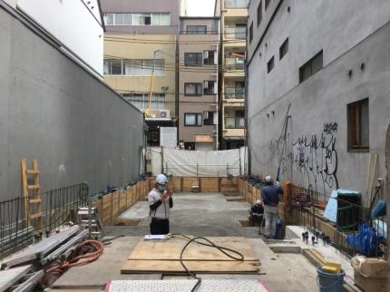 大阪ビル工事