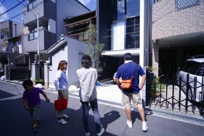 大阪市昭和町の家