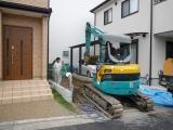 大阪:中百舌鳥の家 外構