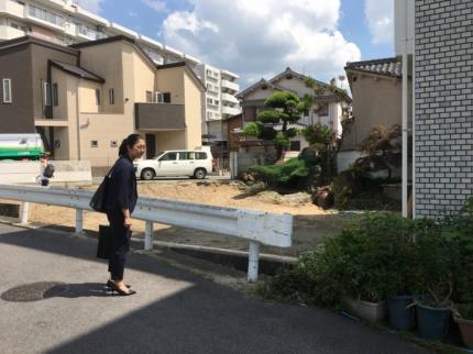 奈良京終の解体後