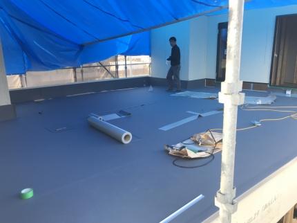 愛媛の家屋根