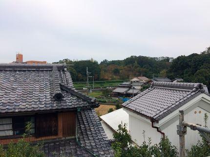 奈良学園前の家眺望