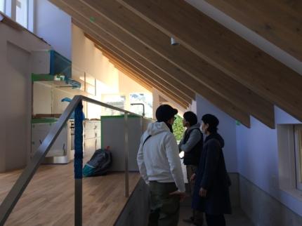 奈良の家施主検査