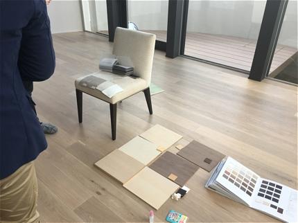 宝塚のフレンチ椅子