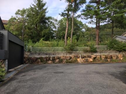 芦屋の敷地