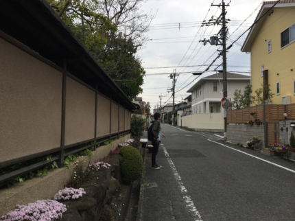 堺へ敷地見学