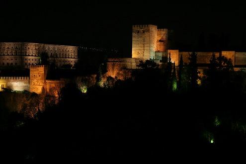 アルハンブラ夜景1