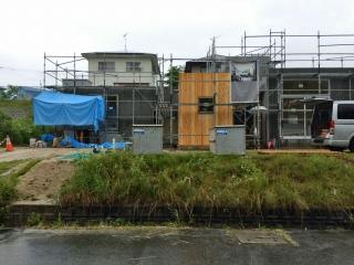 広島の家木の外壁
