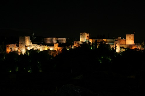 アルハンブラ夜景3