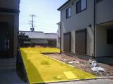 大阪府堺の家:旗竿敷地