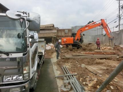 京都美容室解体