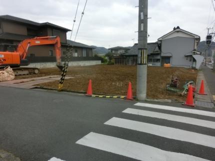 京都舞鶴の美容室解体