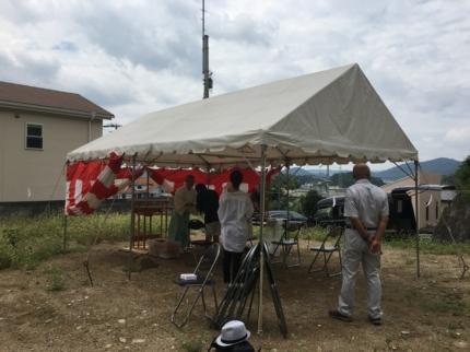兵庫姫路の地鎮祭