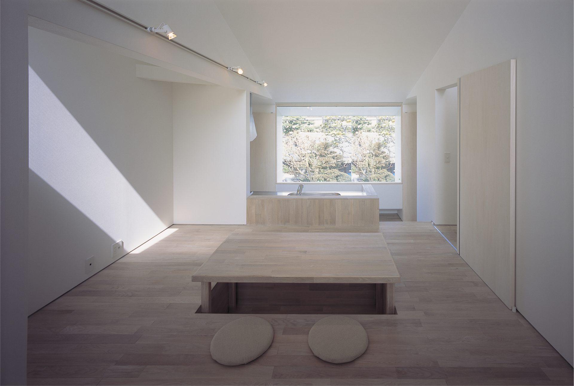 大阪敷地25坪に建つ家のリビング02