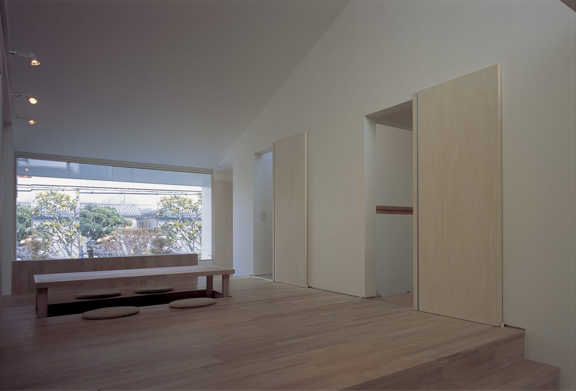 大阪敷地25坪に建つ家のリビング03
