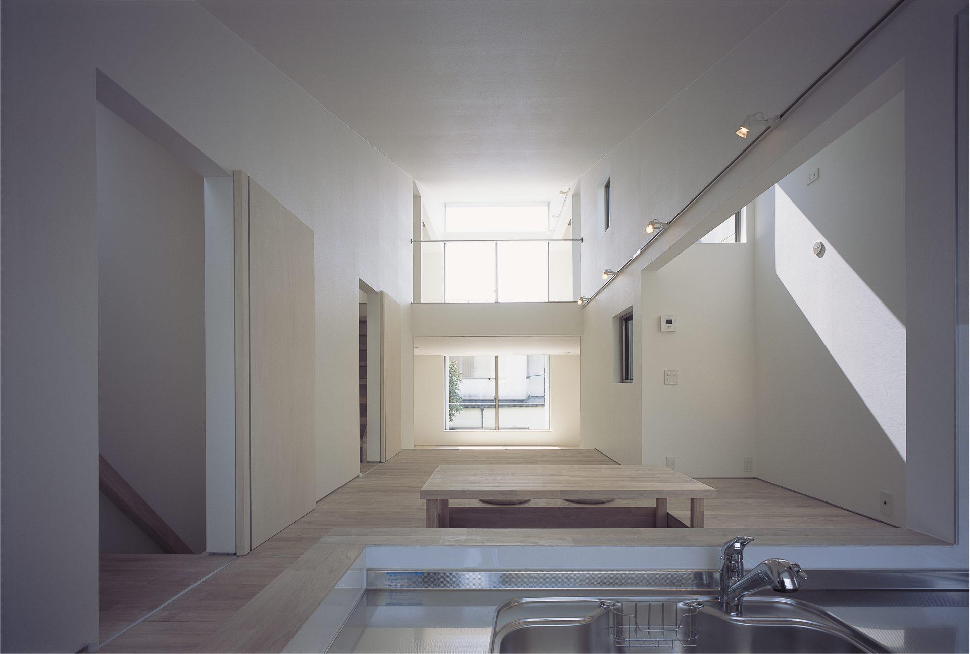大阪敷地25坪に建つ家のキッチン