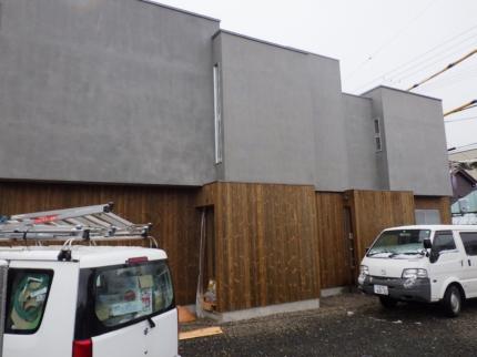 京都舞鶴美容室外壁