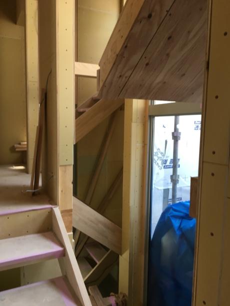 兵庫:甲子園の家 階段